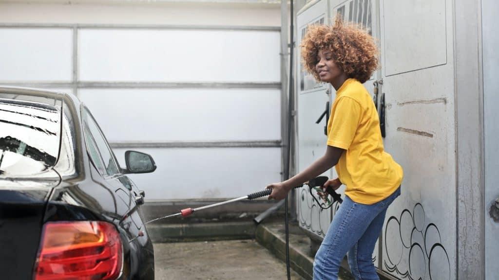 foam car cleaner