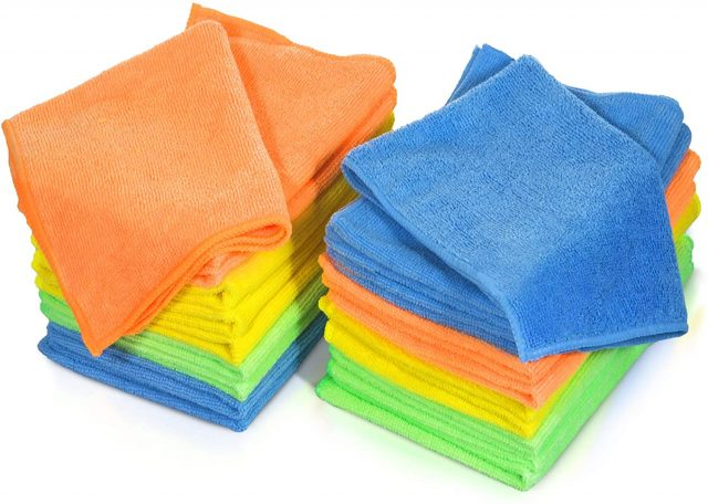 Mastertop 24 Pack Microfiber Cleaning Cloth